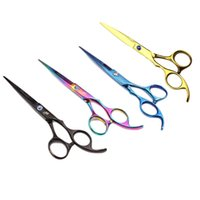Wholesale New Arrival quot Professional Barber Hairdressing Cutting Scissors Salon Hair Shears hairdresser or family barber Quality