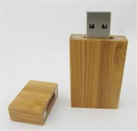 Wholesale 60pcs DHL ship customize logo natrual wooden GB GB GB USB flash drive thumbdrive pendrive thumb drive for tablet PC