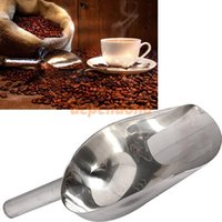 Wholesale 11 Inch Stainless Steel Ice coffee Scraper Food Buffet Animal Candy Bar Scoops