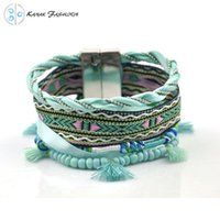 bella jewelry - Ipanema Bracelet Woven Brazilian Style Jewelry Magnetic Clasp Bella Vista Bohemian bracelet Ipanema boho Bracelet