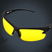 night vision glasses - New arrival cheap Night vision goggles sunglasses driving cycling UV polarized sunglass sport glass new brand men sun glasses good quality