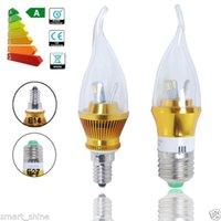 Wholesale Details about x x E12 E14 E27 W LED SMD Candle Bulbs Candelabra Light Spotlight SES ES Lamp