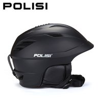 Wholesale POLISI Profession Ski Snow Helmet Skateboard Outdoor Sport Safety Helmet Adjustable Men Women Winter Skiing Snowboard Capacete