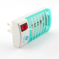 Wholesale Fashion Hot V V Mosquito Fly Bug Insect Trap Zapper Repeller LED Electric Killer Night Lamp