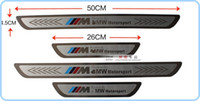 Wholesale High quality door sills footplate Door Sill Scuff Plate protection bar for BMW series X1 X3 X5 X6 E70 E71 E84