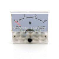 DC 30V аналогового напряжения Вольт метр тестер метр панели Вольтметр Манометр 0-30V Обеспечение высокого качества