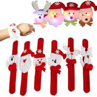 Wholesale Funny Lobster claw clasps Christmast Bracelets children adult Bracelets Slap Snap Bracelets christmas gift for child in stock
