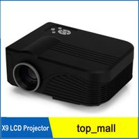 Wholesale 1080P Lumens Portable Mini Portable LED Projector with HDMI Micro AV LED Digital Projectors Multimedia Player VGA Full HD