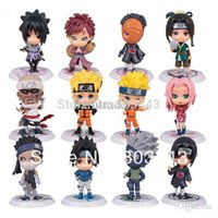 Wholesale New Design PVC Anime Naruto Action Figure Shikamaru Kakashi Sasuke Model Toy for collection