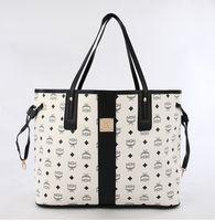 luxury leather handbags - 2015 Women handbags MCM leather bags luxury famous brand shoulder bags designer handbags high quality totes purses model color