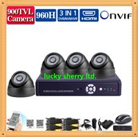Wholesale CIA White ch h cctv dvr nvr hvr with HD TVL Day Night Security Camera DVR HDMI video recording surveillance system channel