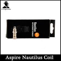Cheap Hot Sell Nautilus BVC Coil Nautilus Mini Nautilus Replacement Bottom Vertical Coil 1.6ohm 1.8ohm 2.1ohm For Aspire Nautilus Atomizer