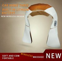 automotive music - 2015 Hot authentic kneading massage neck and shoulder shawl neck massager music automotive instrument neck shoulder waist body massage