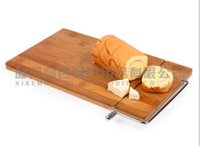 bamboo bread cutting board - Creative products Novelty items Western supplies Tool cut bamboo bread B2701 for breakfast bread knife cutting board cut bread