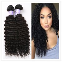 Wholesale Malaysian Deep Wave Malaysian deep Curl Hair Malaysian Virgin Hair inch Remy Human Hair Weave Bundles