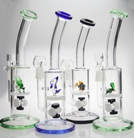 animals nail - two function Funny Cute Turtle Colorful Animal Glass bongs water pipe with oil rig dome nail and glass bowl for tobacco