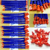 Wholesale 1 Flat Nozzle Flexible Water Oil Coolant Pipe Hose For Lathe CNC With Switch small order no tracking