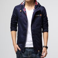 mens designer clothes - 2015 new tidal fashion Mens jackets and coats outdoor casual clothes famous designer hooded jacket men