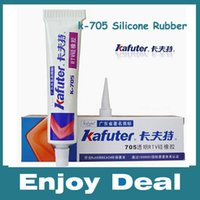 silicone sealant - Genuine Kafuter k RTV Silicone Rubber Electronic Glue Sealant Transparent Organosilicon g