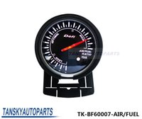 air motor car - Tansky Defi mm RATIO AIR FUEL GAUGE Black Bracket High Quality Auto Car Motor Gauge with Red White Light TK BF60007 AIR FUEL