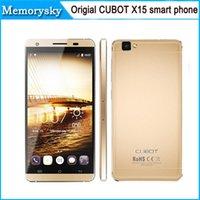 <b>CUBOT</b> X15 originale 5.5 pollici FHD fotocamera 1920 * 1080P 4G FDD-LTE Android 5.1 Smartphone 2GB 16GB 64bit MTK6735M Quad Core 16.0MP a stcok 010.023