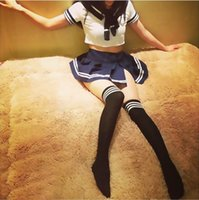 adult sailor suit - Package post sexy lingerie students wear sailor sexy uniform temptation underwear stockings SM female adult suit