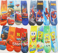 ankle length socks - pairs length cm kitty mickie Cute Cartoon girls boys Baby children s print ankle sock socks years a01