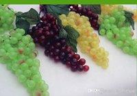 decorative artificial grapes - Large Simulation Grapes Artificial Grapes Fruits Grapes For Home Living Room Ornaments Best cm Novelty Idyllic Decorative