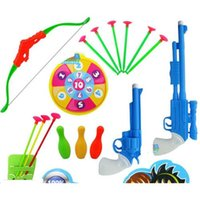 Wholesale New Soft Bullet Pistol Contest Toy Soft Dart Toy Gun Sucker Arrows Shooting Game