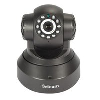 Wholesale Sricam Wireless HD IP Camera Night Vision x Pixels Security Surveillance Camera TF Card G CMOS Sensor