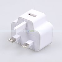 Wholesale AC DC V A UK Power Adapter Wall Charger USB Plug Travel Universal Adapter For Samsung Galaxy S3 S4 S5