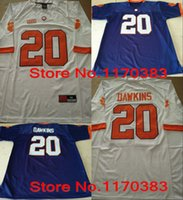 american logo - Factory Outlet NCAA Clemson Tigers jerseys Brian Dawkins jersey orange White Purple American College Football Jerseys Embroidery Logo A