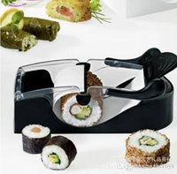 Wholesale 2015 Creative Sushi Tools Roll Sushi Mold model Easy Sushi Maker Roll Ball Cutter Roller Rice Mold DIY Kitchen Gadgets Tool