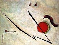 Precio de Break fotografías-Wassily Kandinsky Pinturas para la venta óleo sobre lienzo Broken Line Pintado a mano de alta calidad Wall art picture