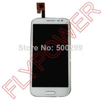 inew i7000 - for iNew i7000 MTK6589 LCD Display digitizer touch Screen with frame Assemblely white