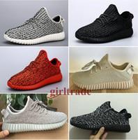 Wholesale Epacakge Free Drop Shipping Famous Boost Low moonrock black grey Oxford Tan Women Mens Sports Running Shoes