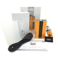 Metal e cig mod - Evic VT E cig Kit Original Joyetech Evic VT Starter Kit mah Input Battery Sensitive Temperature Control Mod sigelei w DHL free