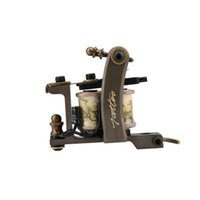 custom tattoo machines - New Arrival Custom Handmade Copper Coils Tattoo Machine Tattoo Gun Liner Body Art W1174