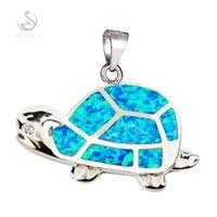 animal classes - First class products Recommend Promotion Noble Generous S Best Sellers Blue Green opal Romantic sterling silver Fashion Pendants
