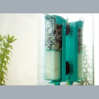 Wholesale Portable Biochemical Cotton Absorbent Charcoal Hanging Type Fish Aquarium Filter Air Water Pump