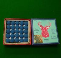 Wholesale 2015 New mm mm mm Original Deer brand eraser diamond billiard pool cue tips snooker cue tips Freeship