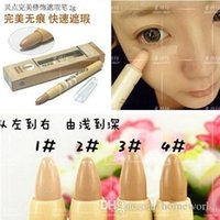 Wholesale Minimum Order Flawless Skin Pen Concealer Stick Makeup Cover Pencil Spot Acne Marks Perfect Cover Moisture G