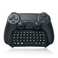 Cheap TP4-008 Mini Bluetooth Wireless Keyboard Keypad Joystick For PS4 PlayStation 4 Controller