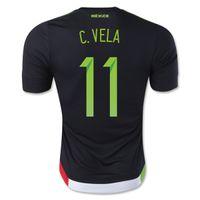 mexico - Customized Thai Mexico Home Black C VELA Soccer Jersey Shirts Football Jerseys Tops Shirts Cheap New Hot Mexico C VELA