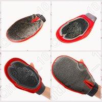 Wholesale 150PCS MAA07 Cat Pet Dog Fur Grooming Groom Glove Mitt Brush Comb Massage Bath Tidy Tool