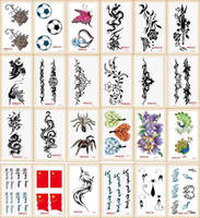 Wholesale 20 models Tattoo Sex Products Temporary Tattoo For Man And Woman Waterproof Stickers WSH2 pc