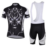 Wholesale Top quality Personalized ghost wolf Men s Cycling Clothing Racing Bike Pants Quick Dry GEL Pad Bicycle cycling jersey bib short