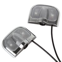 auto drill - 1 pair of No Drill Car LED Door Lights Auto Modification Decoration Logo Lights for Nissan CLT_060