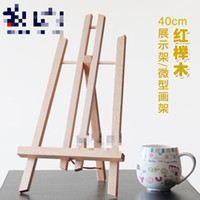 artist easel wood - cm Wood Painting Easel Photo Frame Advertisement Exhibition Rack Oil Painting Desktop Artist School Students Easels