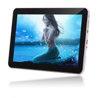 Wholesale US Stock IRULU Inch Quad Core Tablet PC Android MTK8127 G G HDMI GPS Bluetooth FM Dual Camera Tablets